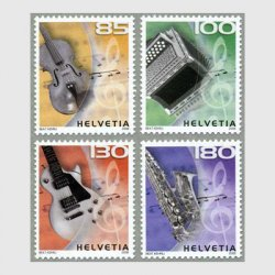 スイス 2008年楽器4種