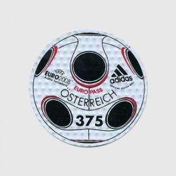オーストリア 2008年ユーロ2008・adidasボール型切手