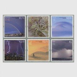 中国香港 2014年気象現象6種