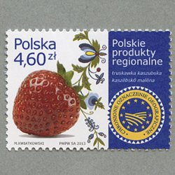 ポーランド 2013年イチゴ