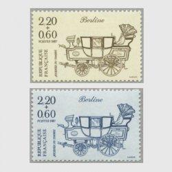 フランス 1987年切手の日