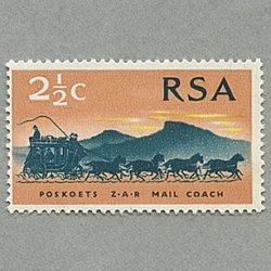 南アフリカ 1969年郵便馬車