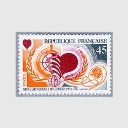 フランス 1972年世界心臓月間