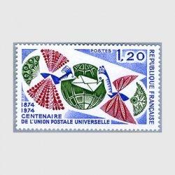 フランス 1974年UPU100年