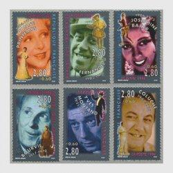 フランス 1994年著名人シリーズ(俳優)6種