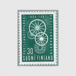 フィンランド 1961年郵便貯金局75年