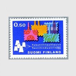 フィンランド 1970年フィンランド織物工業※少陽ヤケ