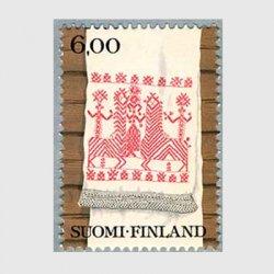 フィンランド 1980年カレリアの刺繍布