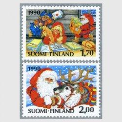 フィンランド 1990年クリスマス2種