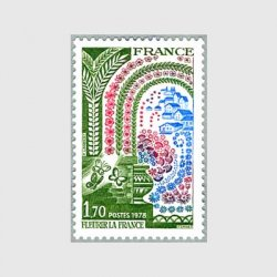 フランス 1978年花いっぱい運動
