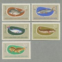 ベトナム 1963年魚5種