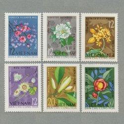 ベトナム 1964年花6種