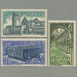 スペイン 1969年ラス・ウェルガス修道院3種
