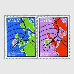 アイルランド 1973年北西ヨーロッパの気象図2種