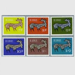 アイルランド 1968年古代土器の牡鹿の文様