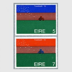 アイルランド 1973年トラクターを追う鳥2種