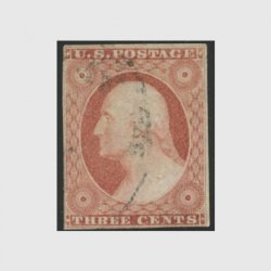 アメリカ 1855年3cワシントン・スコットNo.11(使用済)