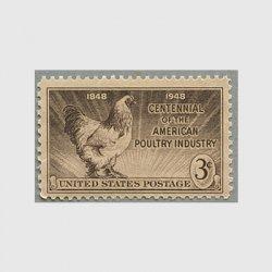 アメリカ 1948年家禽産業100年
