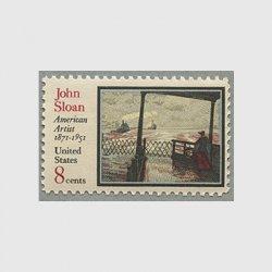 アメリカ 1971年J.Sloanの絵画
