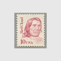 アメリカ 1987年インディアン首長レッド・クラウド