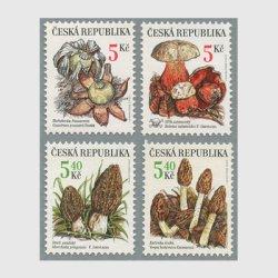 チェコ共和国 2000年きのこ4種