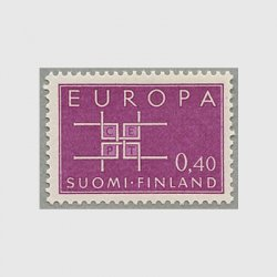 フィンランド 1963年ヨーロッパ切手
