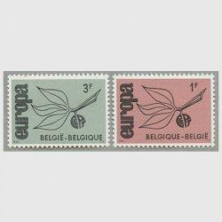 ベルギー 1965年ヨーロッパ切手2種