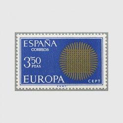 スペイン 1970年ヨーロッパ切手