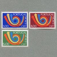 ポルトガル 1973年ヨーロッパ切手3種