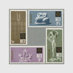 マルタ 1974年ヨーロッパ切手4種