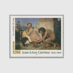 フランス 2004年美術切手・闘鶏