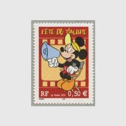 フランス 2004年切手の日・ミッキーマウス