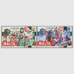 マルタ 1982年ヨーロッパ切手2種