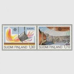 フィンランド 1983年ヨーロッパ切手2種