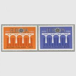 フィンランド 1984年ヨーロッパ切手2種