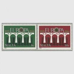 マルタ 1984年ヨーロッパ切手2種