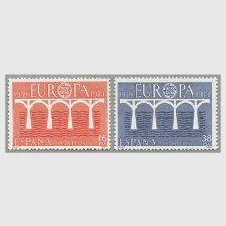 スペイン 1984年ヨーロッパ切手2種