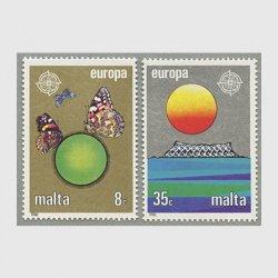 マルタ 1986年ヨーロッパ切手2種