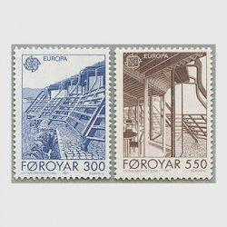 フェロー諸島 1987年ヨーロッパ切手2種