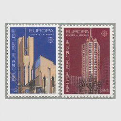 ベルギー 1987年ヨーロッパ切手2種