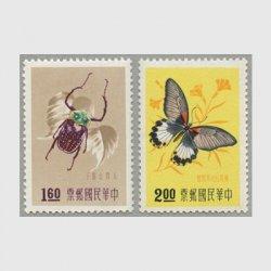 台湾 1958年昆虫2種