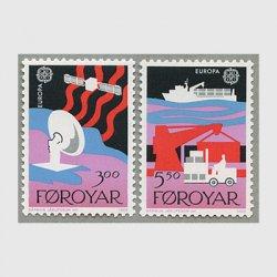 フェロー諸島 1988年ヨーロッパ切手2種