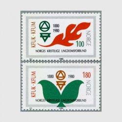 ノルウェー 1980年キリスト教青年会議100年2種