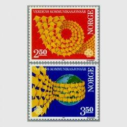 ノルウェー 1983年コミュニケーション年 2種