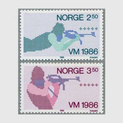 ノルウェー 1986年バイアスロン世界大会2種