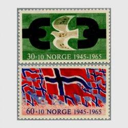 ノルウェー 1995年ドイツからの解放2種
