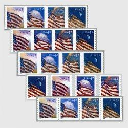 アメリカ 2008年星条旗4種