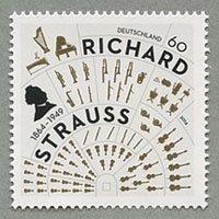 ドイツ 2014年リヒャルト・シュトラウス生誕150年