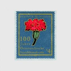 オーストリア 1988年社会民主党100年