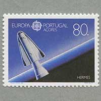 ポルトガル・アゾレス 1991年ヨーロッパ切手
